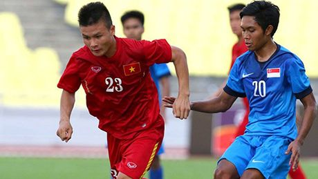 Sao DT U19 khong tap trung cung DT U22 Viet Nam - Anh 1