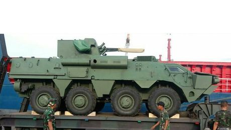 Ukraine cau mong Indonesia dong y che tao xe boc thep BTR-4 - Anh 1