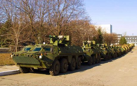 Ukraine cau mong Indonesia dong y che tao xe boc thep BTR-4 - Anh 2