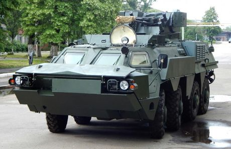 Ukraine cau mong Indonesia dong y che tao xe boc thep BTR-4 - Anh 6