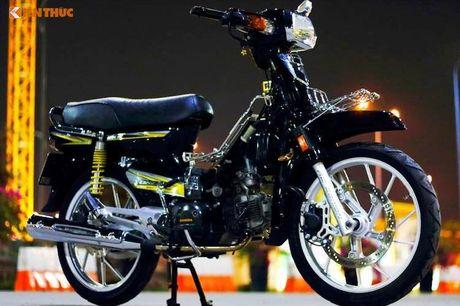 Honda Dream II Thai Lan 'do kieng' sieu dep o Sai Gon - Anh 1