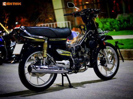 Honda Dream II Thai Lan 'do kieng' sieu dep o Sai Gon - Anh 4