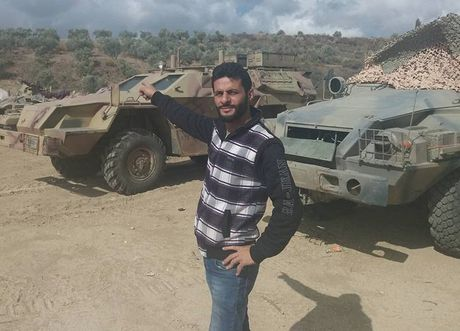 Bat ngo: Nga tung ca xe boc thep BPM-97 toi Syria - Anh 1