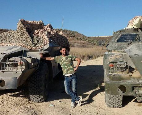 Bat ngo: Nga tung ca xe boc thep BPM-97 toi Syria - Anh 2