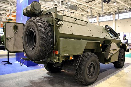 Bat ngo: Nga tung ca xe boc thep BPM-97 toi Syria - Anh 6