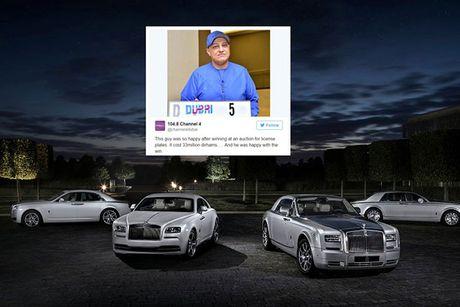 Dai gia chi 200 ty mua bien so cho sieu xe Rolls-Royce - Anh 1