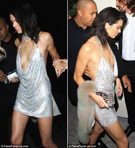 Kendall Jenner tre nai khoe than trong tiec sinh nhat thu 21 - Anh 5