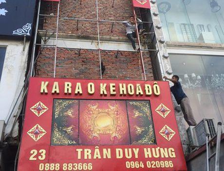 Hang loat quan karaoke thao bien hieu vi lo so chay - Anh 3