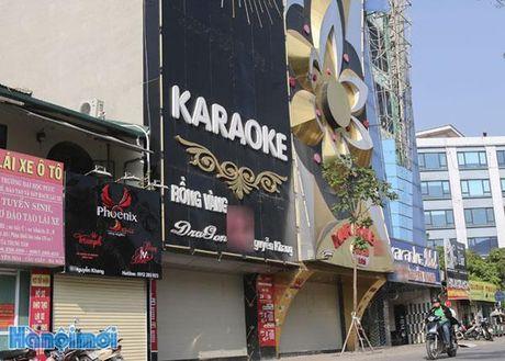 Cau Giay: Tam ngung hoat dong tat ca cac quan karaoke - Anh 4