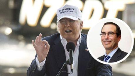 Ong Trump chon ung cu vien Bo truong Tai chinh - Anh 1