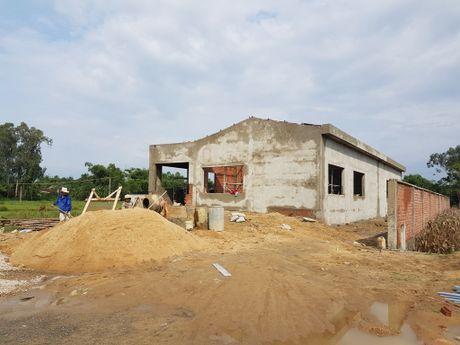 Quang Nam: Nha may khong phep xay gan tru so xa - Anh 1