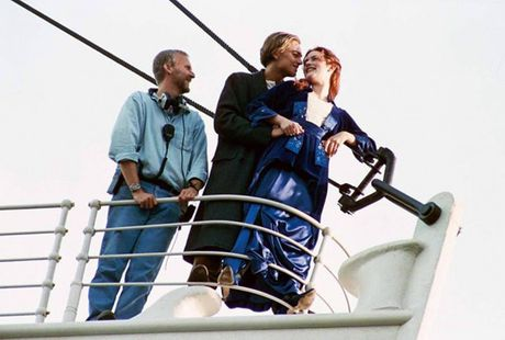 Anh hau truong san xuat it tiet lo cua phim 'Titanic' - Anh 1