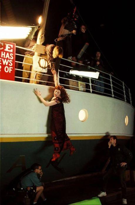Anh hau truong san xuat it tiet lo cua phim 'Titanic' - Anh 5