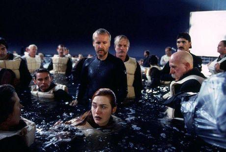 Anh hau truong san xuat it tiet lo cua phim 'Titanic' - Anh 7