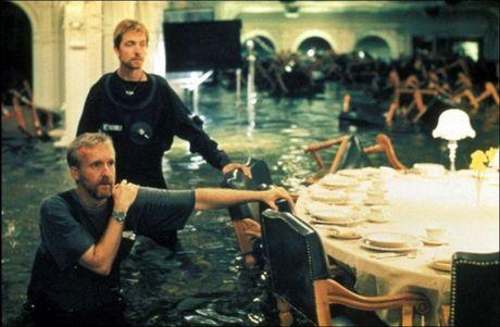 Anh hau truong san xuat it tiet lo cua phim 'Titanic' - Anh 8