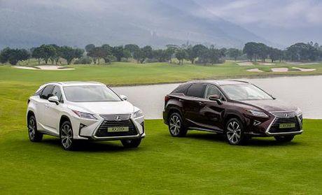 Toyota Viet Nam chinh thuc trieu hoi xe Lexus RX350 va RX200t - Anh 1