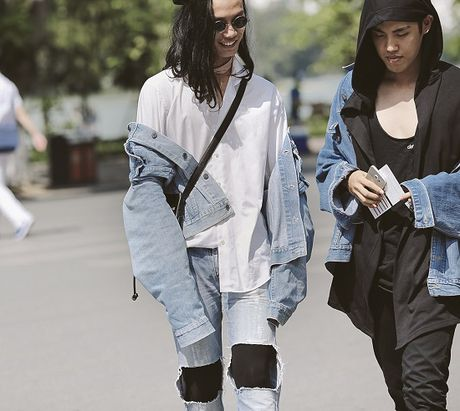 Street Style ngay thu 4: Cac 'bang hoi' fashionista khoe gout thoi trang cuc chat nhu the nao? - Anh 2