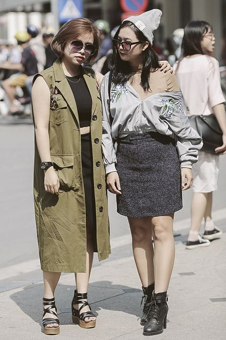 Street Style ngay thu 4: Cac 'bang hoi' fashionista khoe gout thoi trang cuc chat nhu the nao? - Anh 7