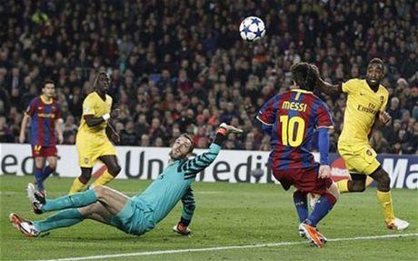 """Ozil do sieu pham C1 voi Messi, Ro """"beo"""", Maradona - Anh 2"""
