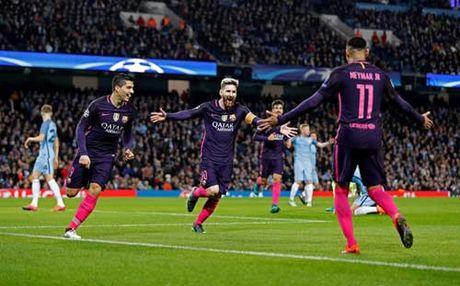 Barca phu thuoc Messi–Suarez–Neymar: Con dao 2 luoi - Anh 1