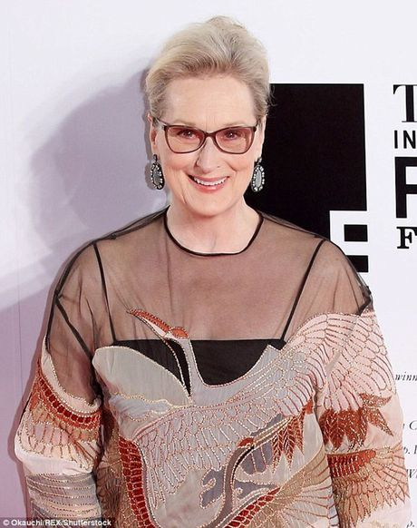 Meryl Streep nhan giai Thanh tuu tron doi tai Qua cau vang 2017 - Anh 1