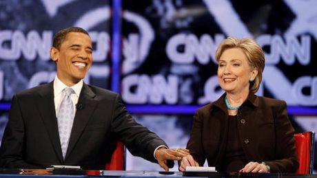 Ly do ong Obama sot sang van dong cho ba Clinton - Anh 1