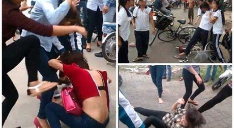 Bao luc hoc duong gia tang la do day dao duc con nang ly thuyet - Anh 1