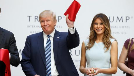 Bau cu tong thong My: Ong Trump tin da thang cu - Anh 1