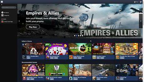 Facebook cong bo nen tang game PC Gameroom - Anh 2