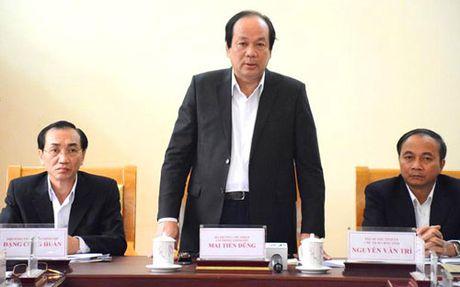 Bo truong Mai Tien Dung: Lanh dao lam sai phai xin loi dan - Anh 1