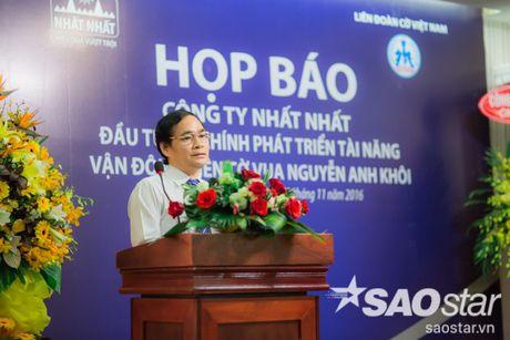 Cong bo muc dau tu 'khung' phat trien tai nang co vua tre Nguyen Anh Khoi - Anh 3