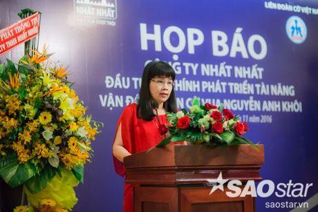 Cong bo muc dau tu 'khung' phat trien tai nang co vua tre Nguyen Anh Khoi - Anh 4