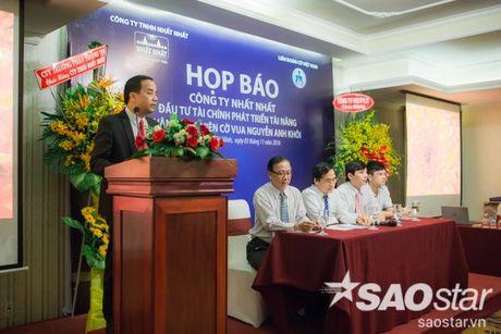 Cong bo muc dau tu 'khung' phat trien tai nang co vua tre Nguyen Anh Khoi - Anh 6