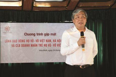 Ha Noi: Doanh nhan ho Vu - Vo doan ket de phat trien kinh te - Anh 2