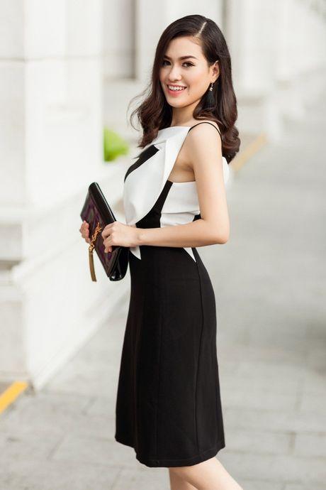 Hoa hau Viet Nam The gioi Diem Tran ve nuoc, lan san showbiz Viet - Anh 8