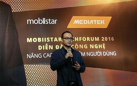 Techforum 2016: Lo dien 'soai ca' Prime X Pro cua Mobiistar - Anh 2