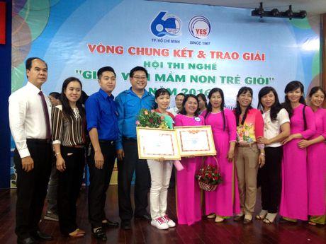 Co giao Binh Chanh doat giai 1 hoi thi Giao vien mam non tre gioi 2016 - Anh 1