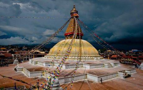 Bieu tuong cua Nepal duoc khoi phuc sau tran dong dat lich su - Anh 1