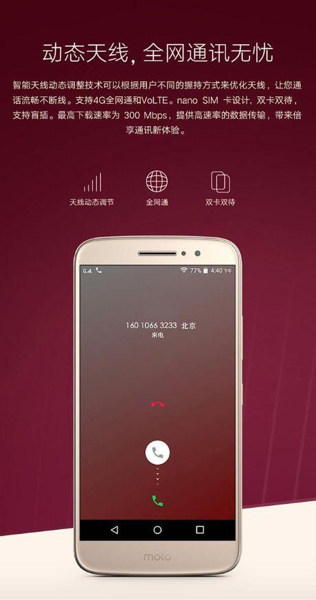 Smartphone Moto M lo anh chinh thuc, 'phoi bay' cau hinh, thiet ke - Anh 2