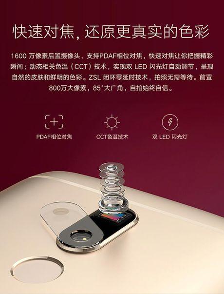 Smartphone Moto M lo anh chinh thuc, 'phoi bay' cau hinh, thiet ke - Anh 4