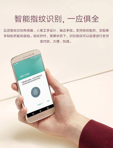 Smartphone Moto M lo anh chinh thuc, 'phoi bay' cau hinh, thiet ke - Anh 5