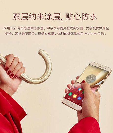 Smartphone Moto M lo anh chinh thuc, 'phoi bay' cau hinh, thiet ke - Anh 8