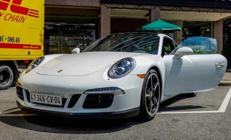 Sieu xe Porsche ban so luong han che tai Sai Gon - Anh 9
