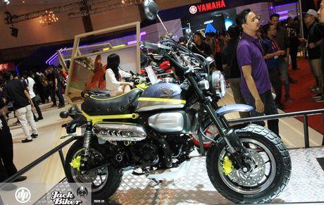 Concept Honda Monkey con tay 125 phan khoi - Anh 1