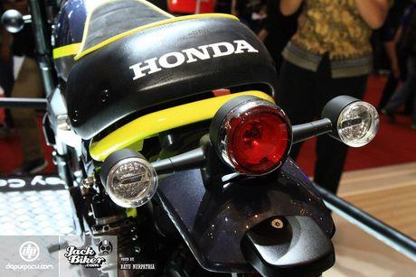 Concept Honda Monkey con tay 125 phan khoi - Anh 5