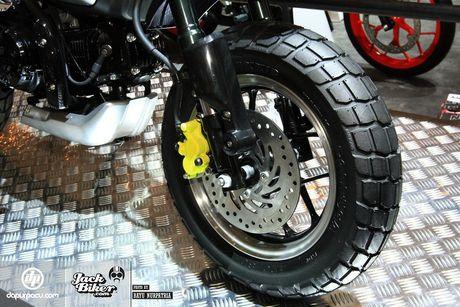 Concept Honda Monkey con tay 125 phan khoi - Anh 6