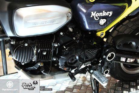 Concept Honda Monkey con tay 125 phan khoi - Anh 8