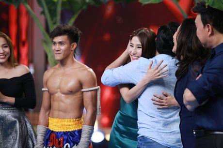Truong Giang om chat Diem My 9X khi duoc khen dep trai - Anh 4