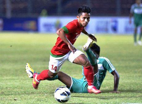 Indonesia cam hoa Myanmar truoc khi gap Viet Nam - Anh 1