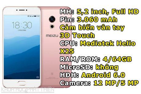 Meizu Pro 6s trinh lang: Chip 10 nhan, 3D Touch, gia hap dan - Anh 1
